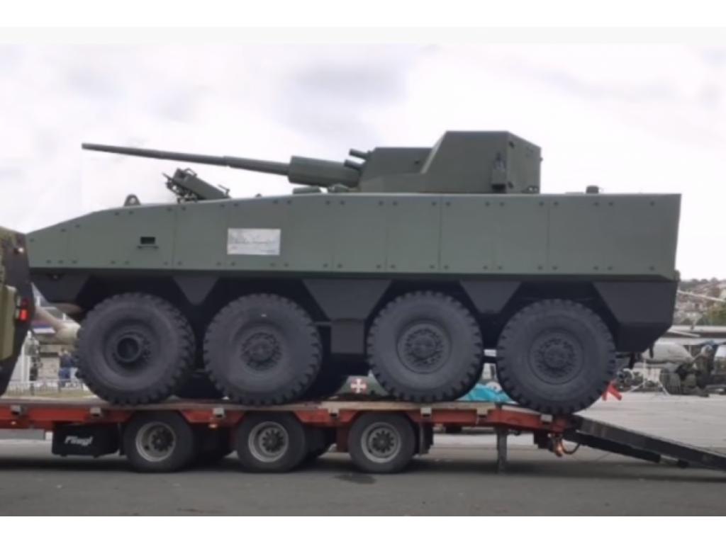 """Otvoren sajam naoružanja Partner 2021, predstavljeno borbeno vozilo """"Lazanski"""""""