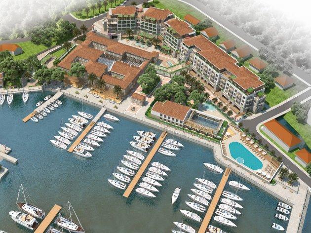 Otvaranje hotela, spa centra i marine u Lazure Marina&Hotel u Meljinama u 2018. godini