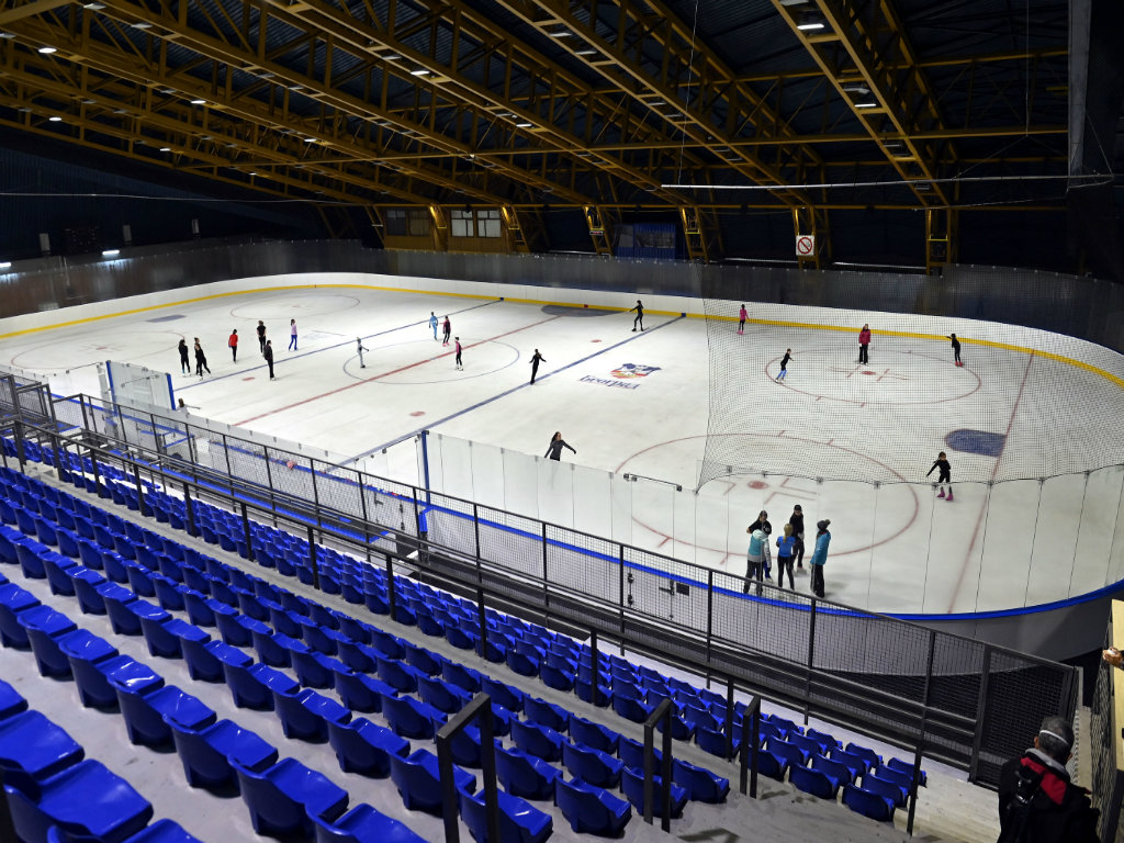 Pionir Ice Rink Reconstruced, Facade Repair Plans Abandoned – Iceskating to be Also Available in Summer