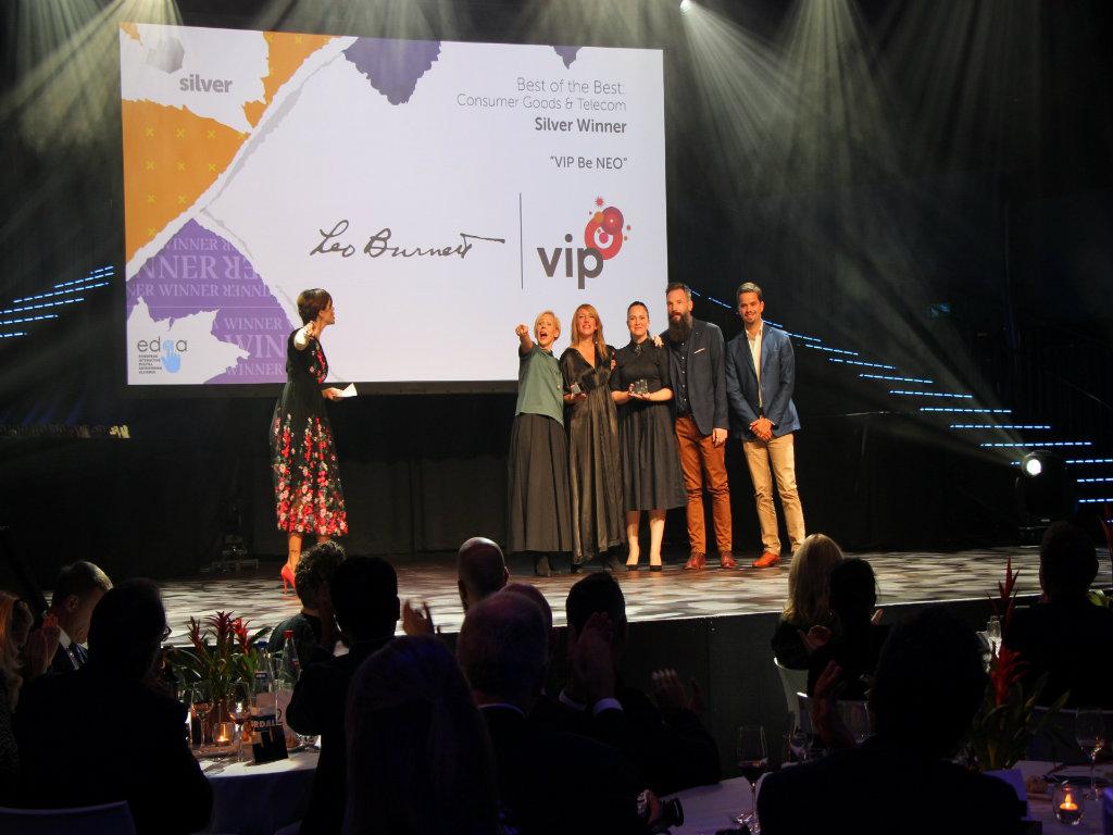 Leo Burnett i Vip mobile osvojili prestižnu nagradu EURO EFFIE za kampanju BUDI NEO