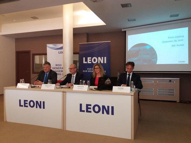 Leoni svečano obeležava početak izgradnje fabrike u Kraljevu 11. oktobra
