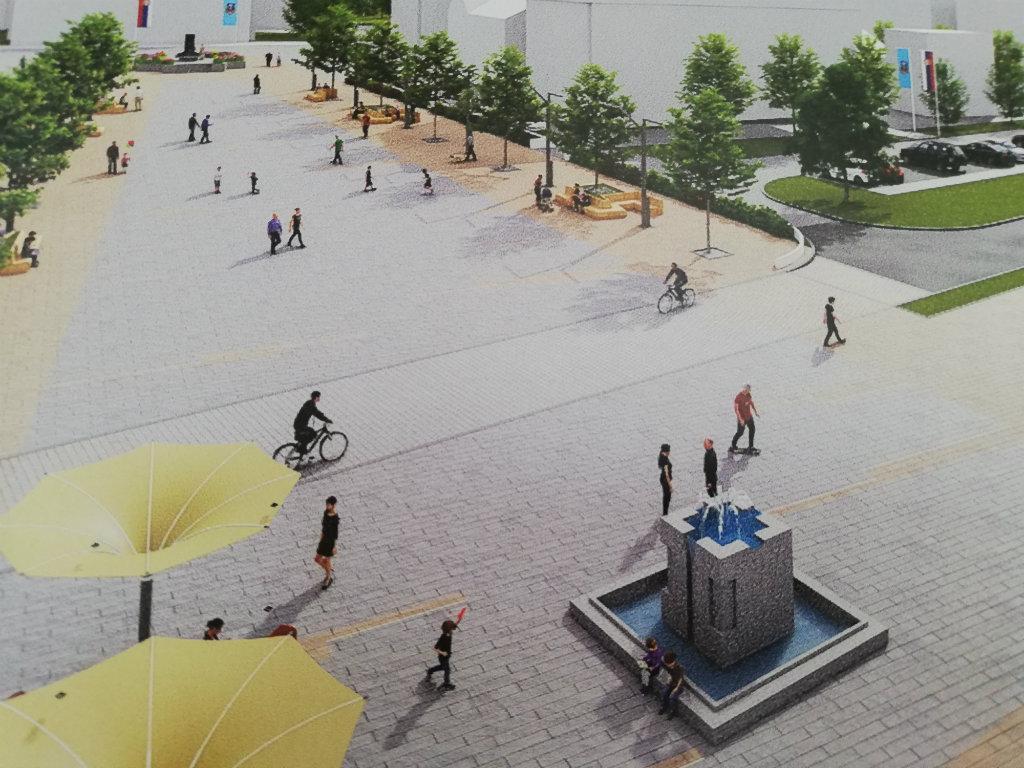 Salon urbanizma - Novosađani zamislili centar Leposavića kao mesto druženja, uz sećanje na žrtve Nato bombardovanja (FOTO)