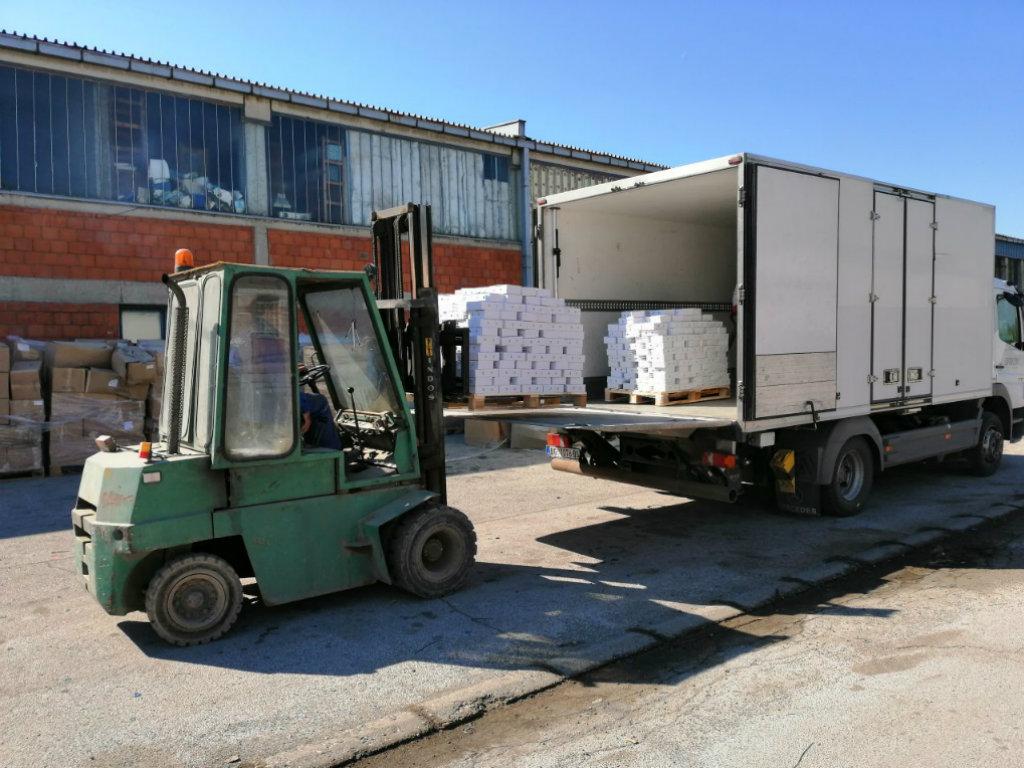 Kompanija Lesaffre donirala 1,5 tona svežeg pekarskog kvasca starijim Kruševljanima