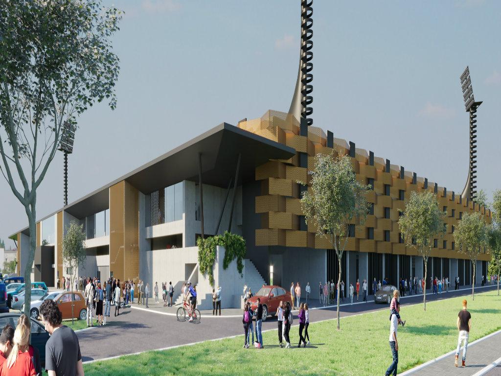Počeli pripremni radovi za gradnju novog Gradskog stadiona u Leskovcu - Ukonjena ograda oko terena starog stadiona FK Dubočica