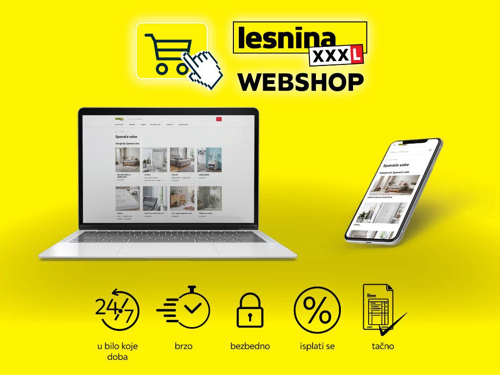 Veliko otvaranje Lesnina Webshop-a - Samo jedan klik vas deli do savršeno opremljenog doma