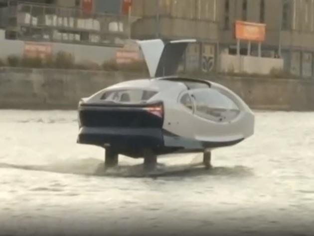 Leteći taksi ploviće Senom na proljeće 2020. (VIDEO)