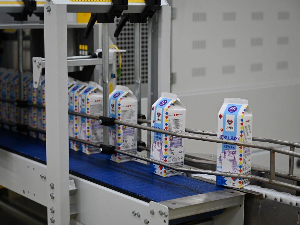 Mlekara Kruna zahvaljujući saradnji sa Lidlom proizvodnju povećala tri puta