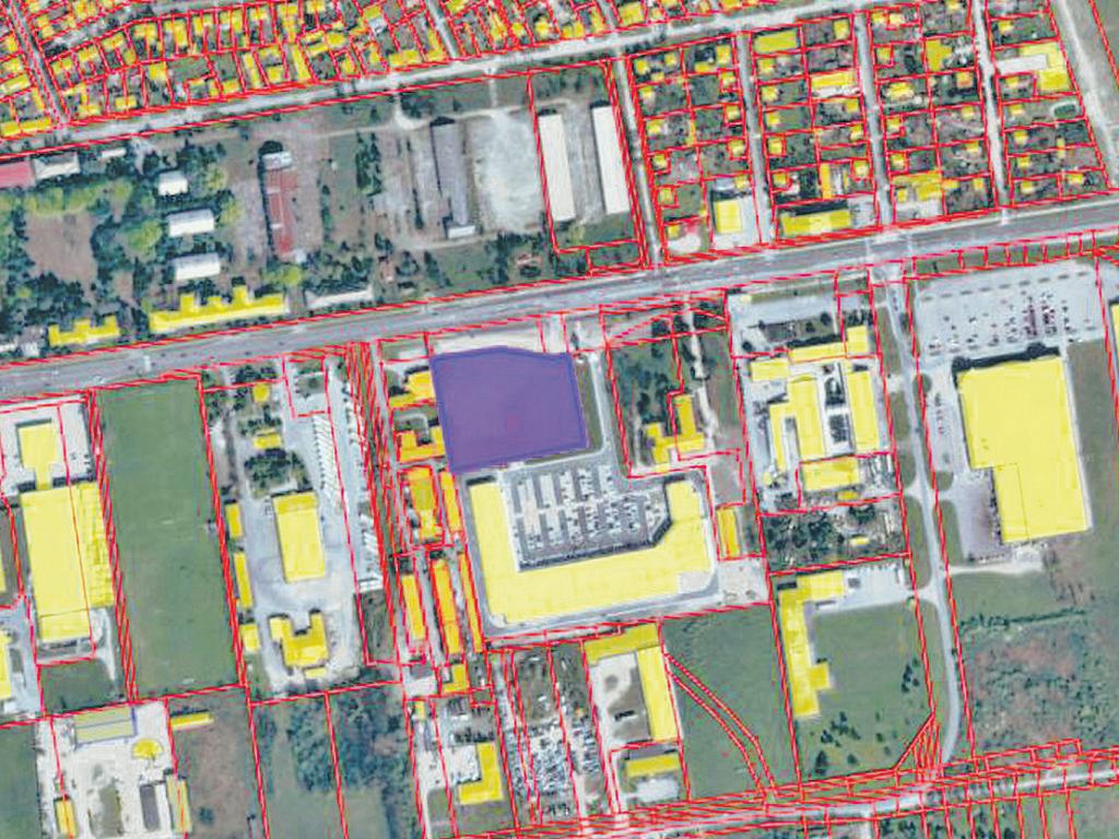Bauland in Subotica mit einer Fläche von 9.000 m2 zum Verkauf geboten