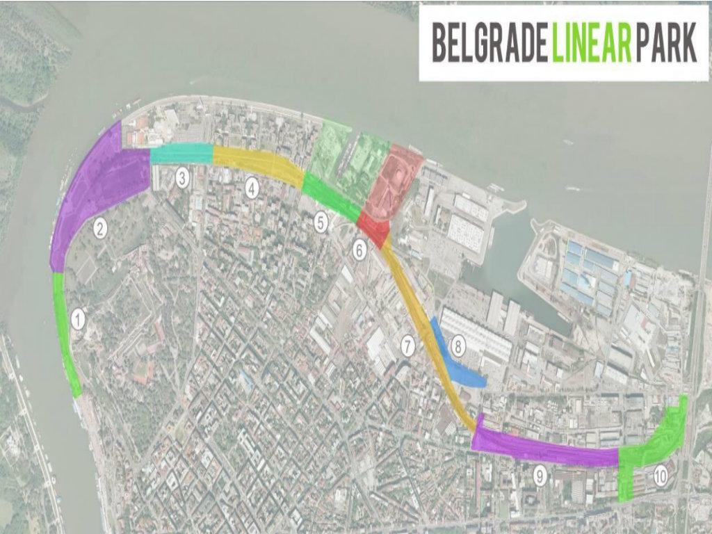 Izgradnja linijskog parka od Beton hale do Pančevačkog mosta koštaće 100 mil EUR