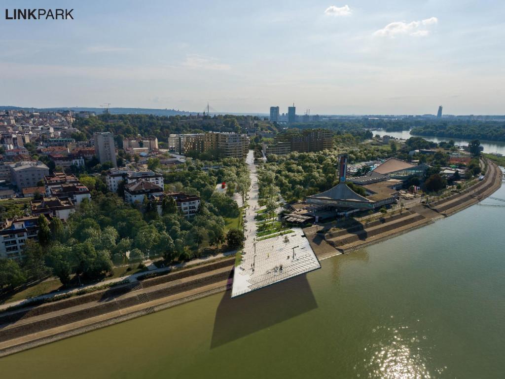 Plan detaljne regulacije Linijskog parka u Beogradu stavljen na javni uvid - Tematski vrtovi, vodeni tokovi, beskonačna klupa, rekonstruisani vagoni...