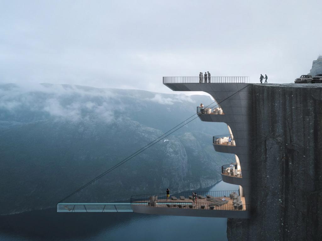 Arhitekte iz Turske kreirale koncept dramatičnog hotela koji visi nad liticom (FOTO)