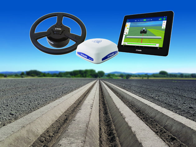 Trimble Autopilot for perfect precision guiding of agricultural machines