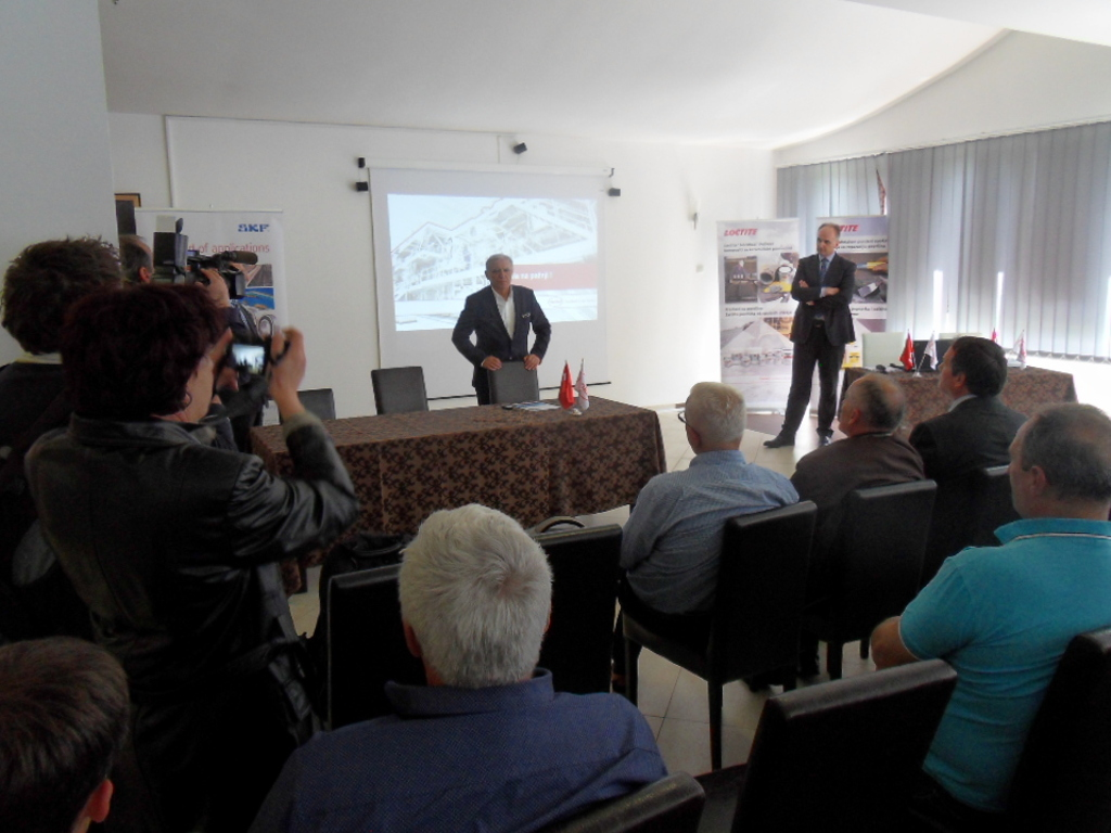 """""""Henkel Srbija"""", SKF i RTB """"Bor"""" predstavili rešenja za održavanje mašina u rudarskoj industriji"""