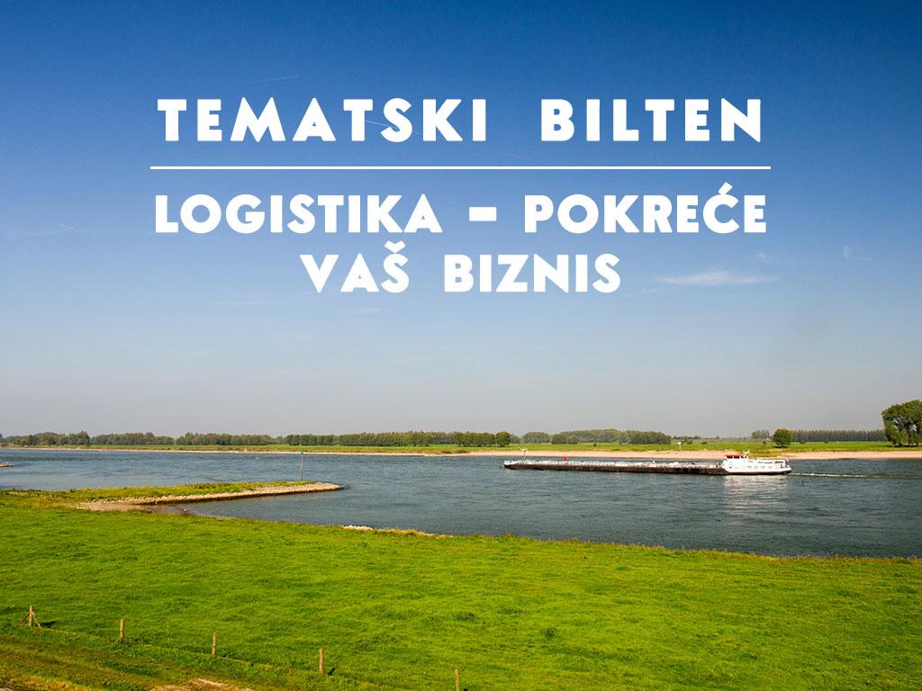 """""""Logistika pokreće Vaš biznis"""" - Predstavljamo vam novi Tematski bilten """"eKapije"""""""