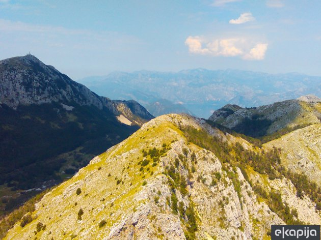 The cable car route will cross the Lovcen National Park
