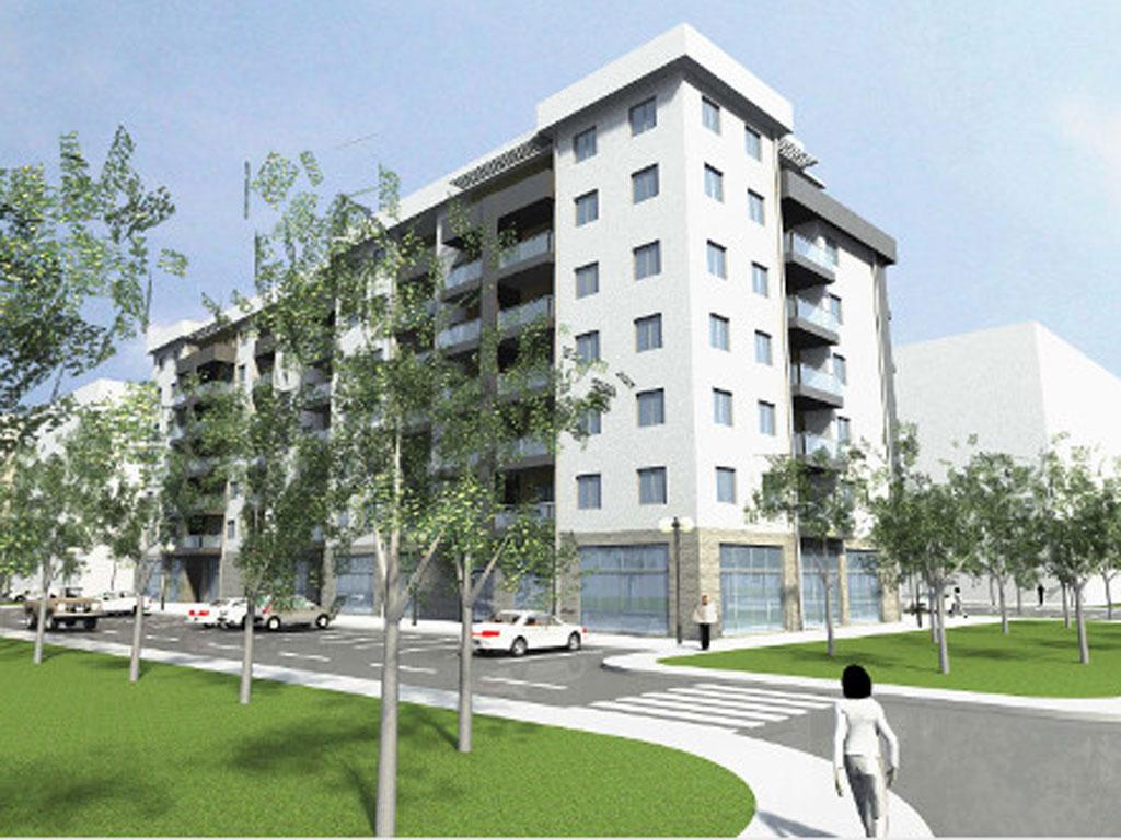 """Firma """"Luč-Invest"""" gradi petu zgradu u stambeno-poslovnom kompleksu u centru Trebinja - U 2015. planirana izgradnja i šeste jedinice (FOTO)"""