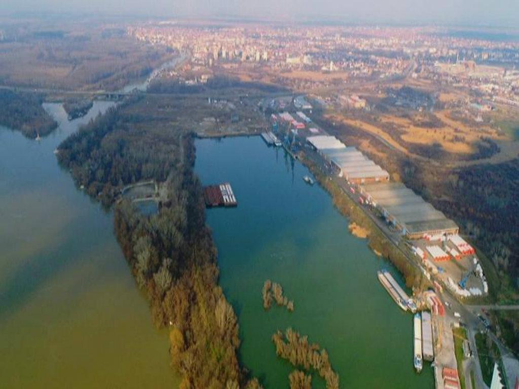 Novi intermodalni terminal u Luci Dunav - Dry Port Terminals u Pančevu povezuje železnički, drumski i vodni transport