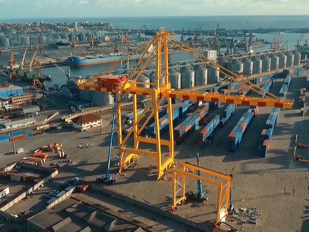 Investitionen in den Hafen Konstanza invollem Gange