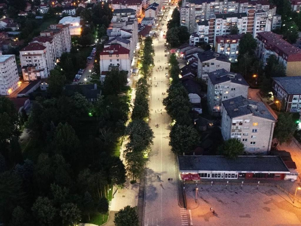 Lukavac dobio prvu gradsku pješačku zonu