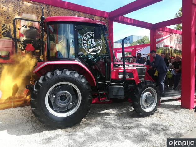 Agropanonka predstavila četiri nova traktora marke Mahindra na Sajmu poljoprivrede u Novom Sadu (FOTO i VIDEO)