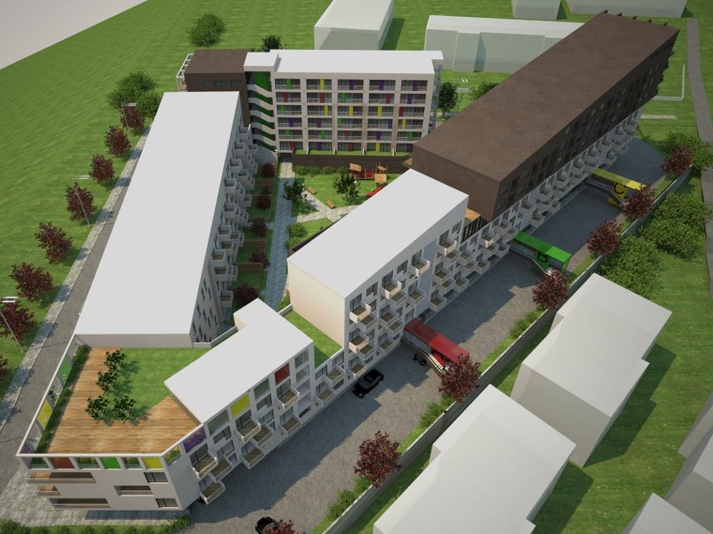 Zenica dobija stambeni kompleks vrijedan 20 mil KM - U nesvakidašnjem bloku zgrada 300 novih stanova (FOTO)