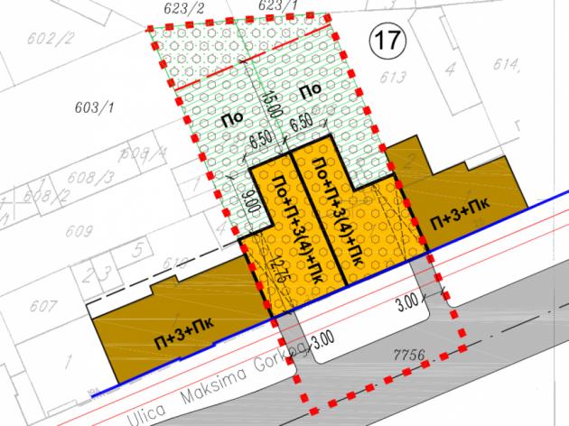 U Ulici Maksima Gorkog u Novom Sadu mogle bi da se grade dve nove zgrade - Koji su uslovi?