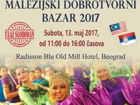 Der fünfte malaysische Wohltätigkeitsbasar am 13. Mai in Belgrad