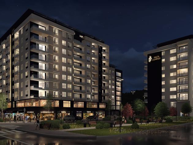 Sarajevo dobija stambeno-poslovni kompleks vrijedan 25 mil KM - Završena izgradnja prve lamele u Malta Complexu (FOTO)