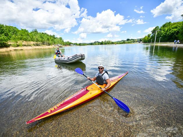 Sezona na jezeru na Manjači od 15. juna