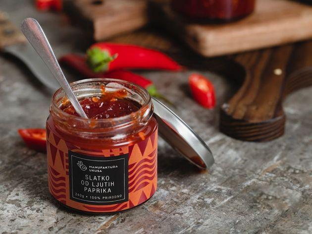 Slatko od ljutih paprika i Čatni od crvenog luka - Manufaktura ukusa u svoje teglice pakuje samo čist hedonizam (FOTO)