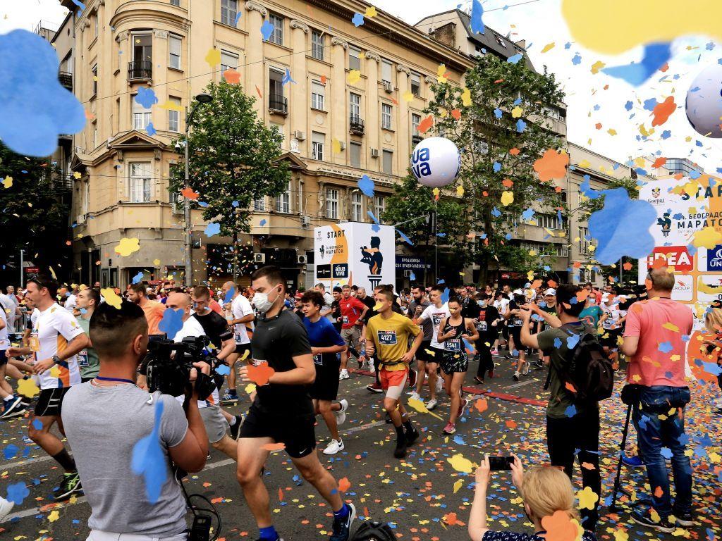 Beogradski maraton pod maskama i uz mali broj gledalaca