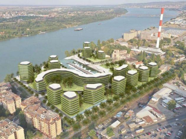 So wird der Wohn- und Geschäftskomplex Marina Dorcol aussehen