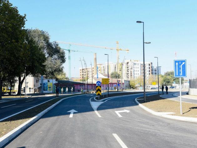 Otvorena jedna od ključnih saobraćajnica u Novom Sadu - Završeni radovi u Ulici Marka Miljanova
