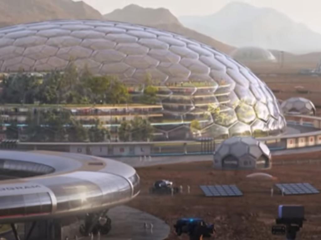 Zgrade na Marsu biće građene od supstance iz riblje krljušti?