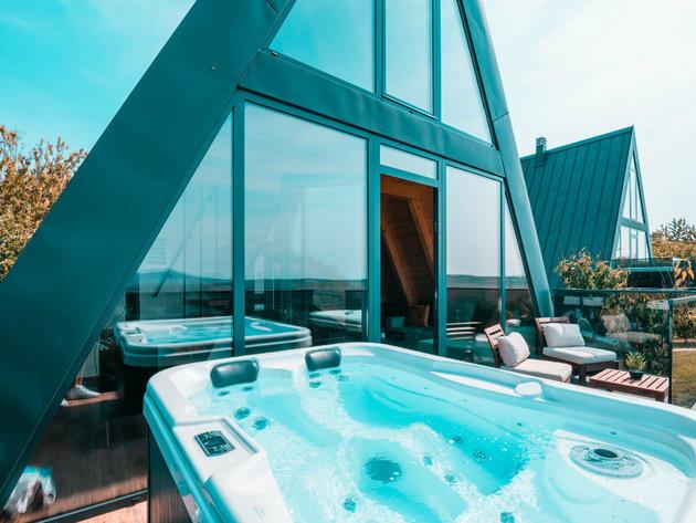 Spoj modernog dizajna sa staklom, kamenom i drvetom u kompleksu Masarotto Luxury Suites - Nastavak gradnje luksuznih apartmana naredne godine (FOTO)
