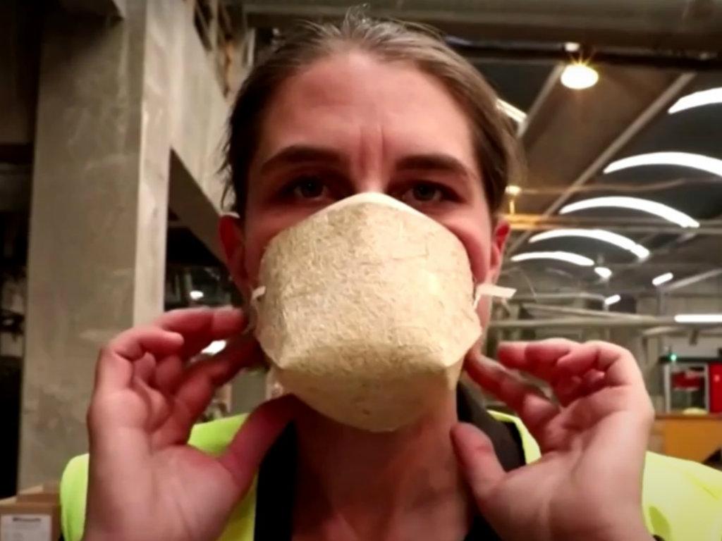 Počela prodaja zaštitne maske napravljene od vlakna konoplje (VIDEO)