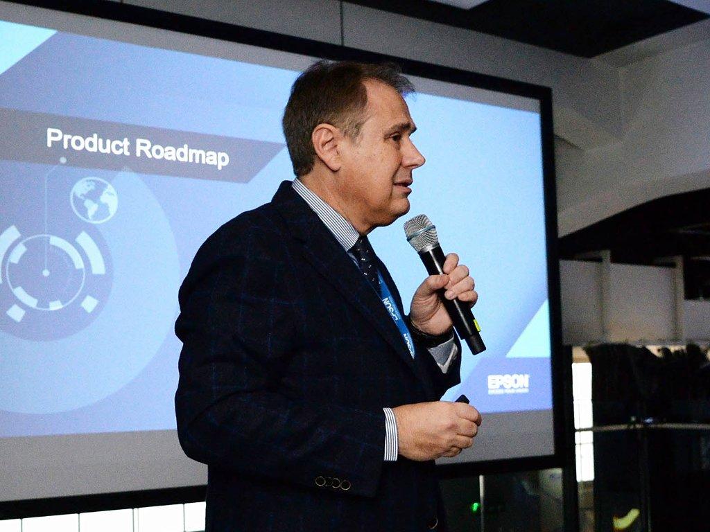 Massimo Pizzocri, potpredsednik za Centralnu i Istočnu Evropu kompanije EPSON - Budućnost štampe je u Inkjet tehnologiji
