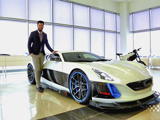Porsche kaufte eine 10% -Beteiligung an der kroatischen Firma Rimac Automobili