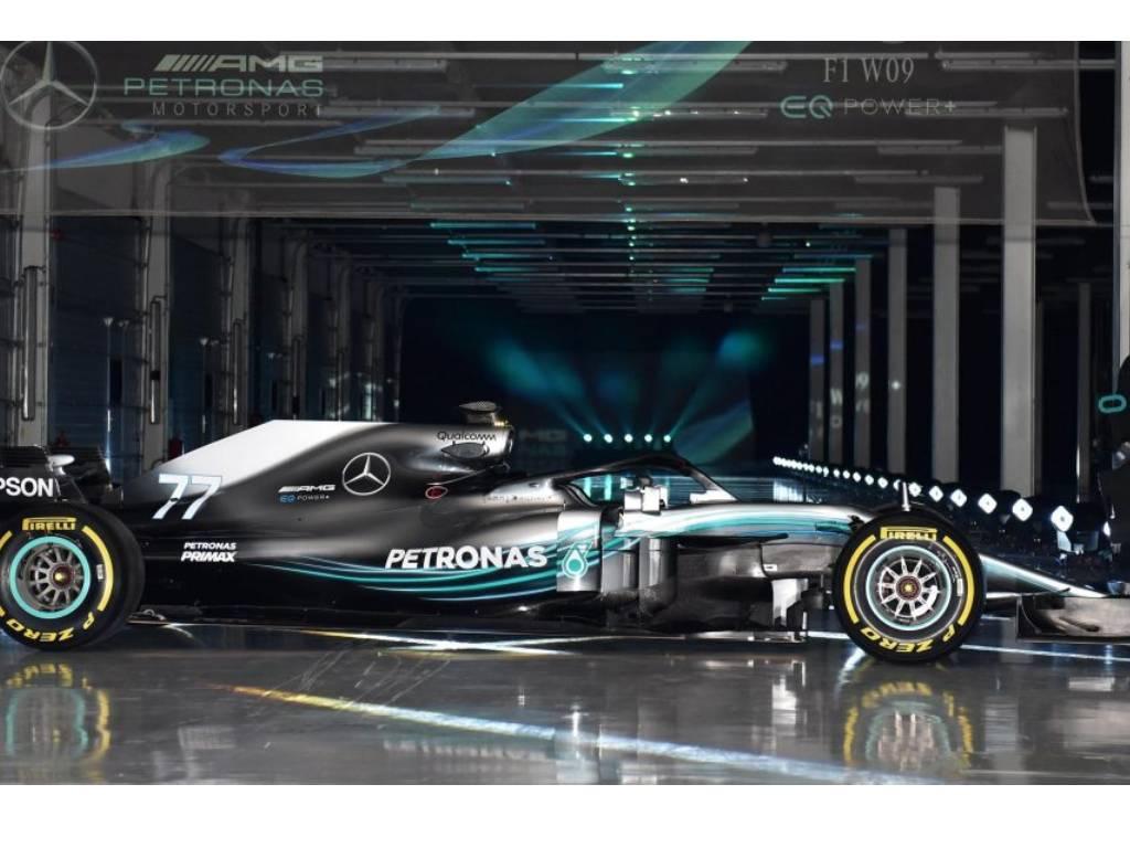 Mercedes u novoj sezoni Formule 1 s crnim bolidima