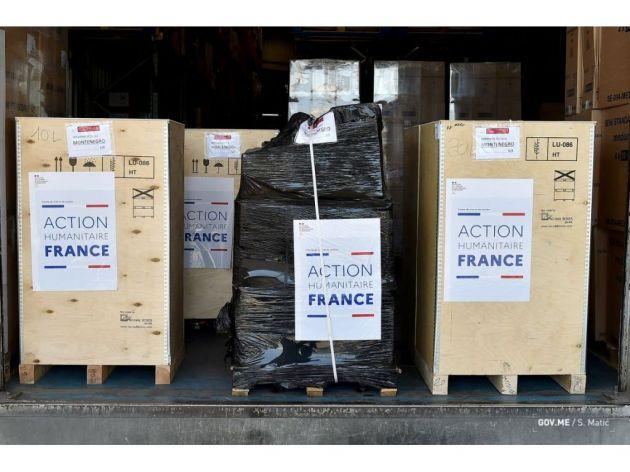 Francuska donirala Crnoj Gori medicinsku opremu vrijednu 115.000 EUR
