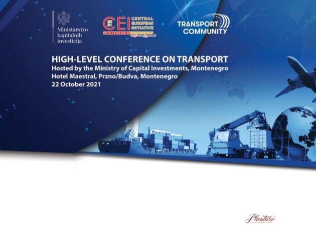 Međunarodna konferencija o saobraćaju 21. i 22. oktobra u Pržnu