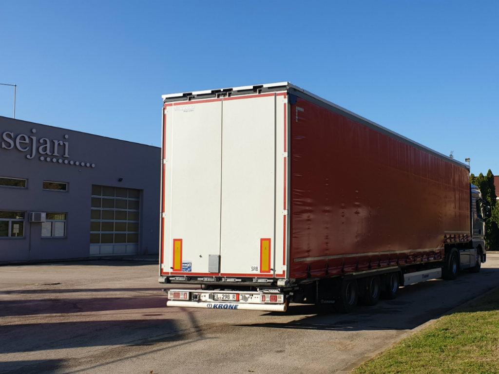 Isporuka nove KRONE Mega Liner Plus po specijalnom zahtevu