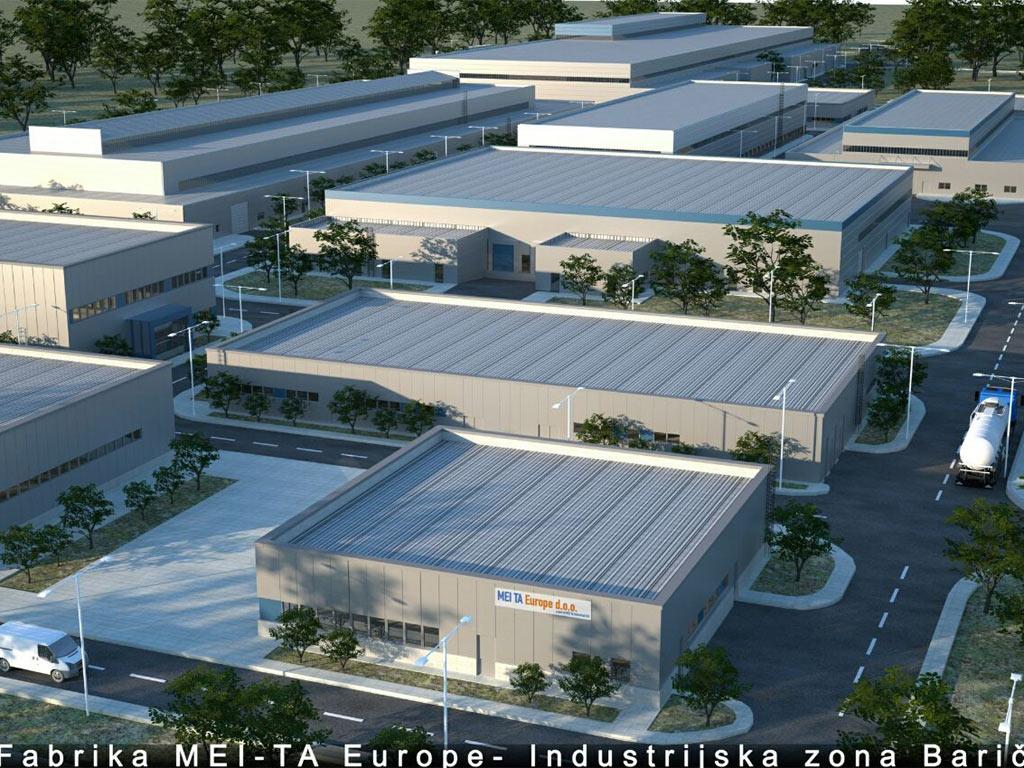 Mei Ta priprema proširenje proizvodnog kompleksa u Bariču