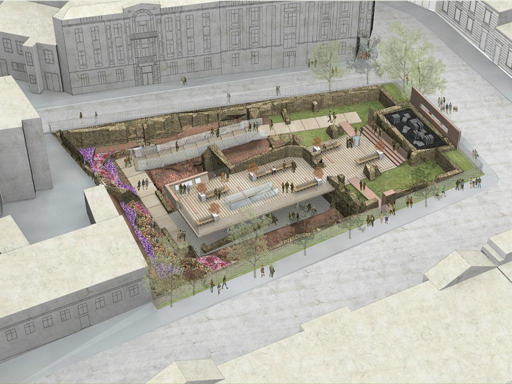 Radi se maketa budućeg izgleda Kosančićevog venca - 3D prikazom utvrditi da li će potencijalni stambeni kompleks narušiti vizuru
