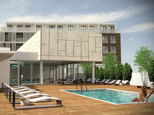 Wie das Hotel Merkur Palace in der Zukunft aussehen wird