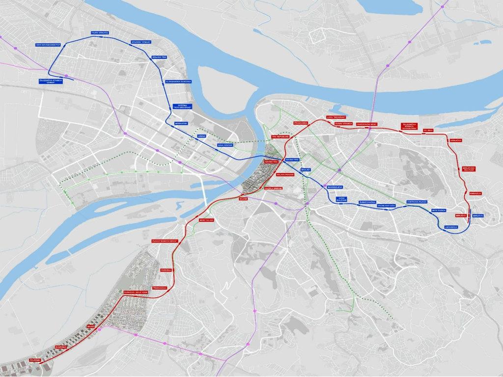 Tehnička kontrola elaborata za izgradnju prve linije BG metroa poverena Rudarsko-geološkom fakultetu