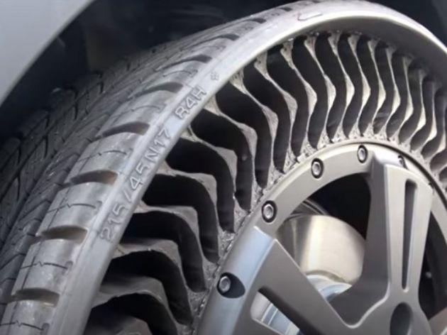 Pogledajte prve snimke vožnje Michelin gume koja nije punjena vazduhom - Prodaja kreće od 2024. (VIDEO)
