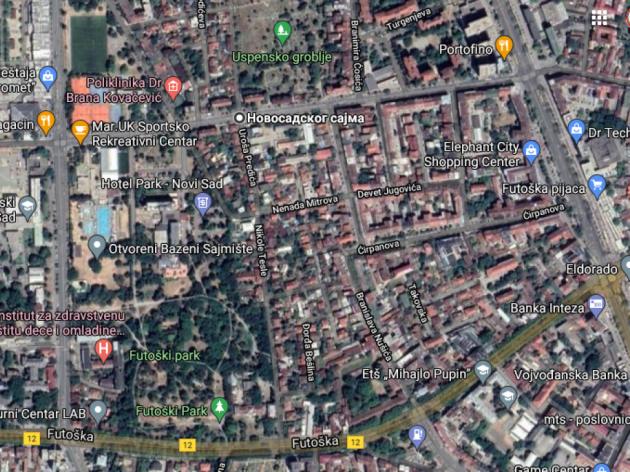 Kako bi mogao da izgleda prostor između ulica Mičurinove, Novosadskog sajma i Futoške?