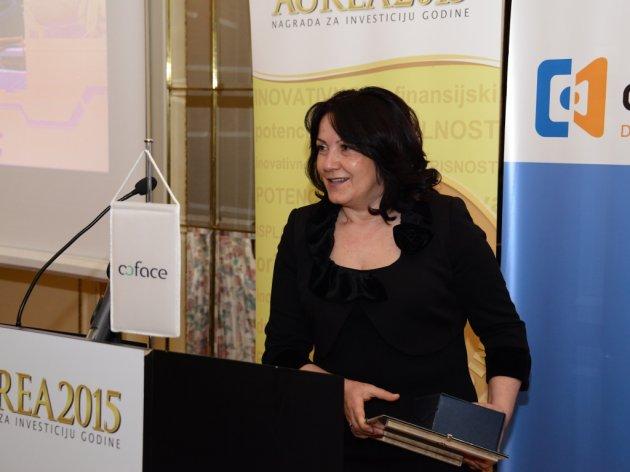 "Milena Tošić erhielt den Preis ""Aurea"""