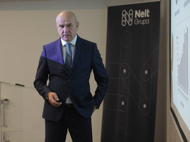 Miloš Jelić, generalni direktor Nelt grupe